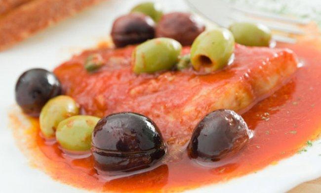 Merluza en salsa de tomate